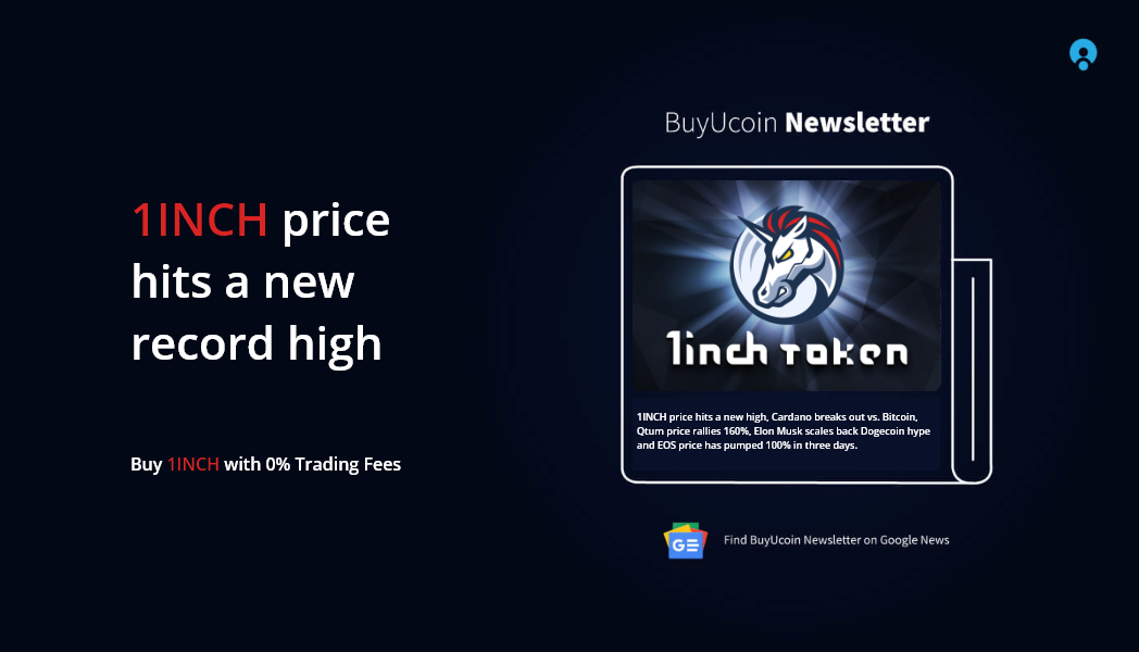 1INCH price hits a new record high