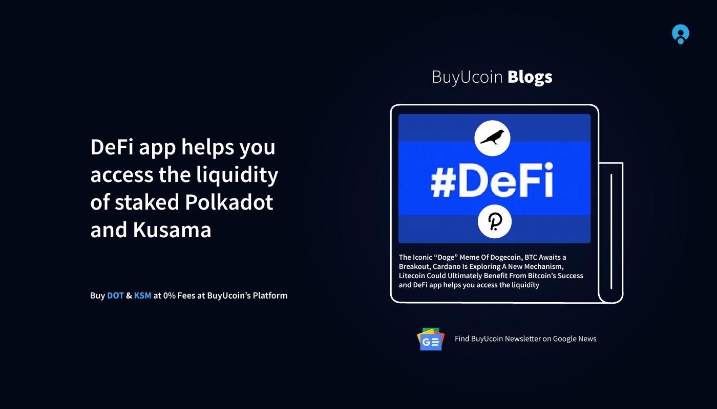 DeFi app