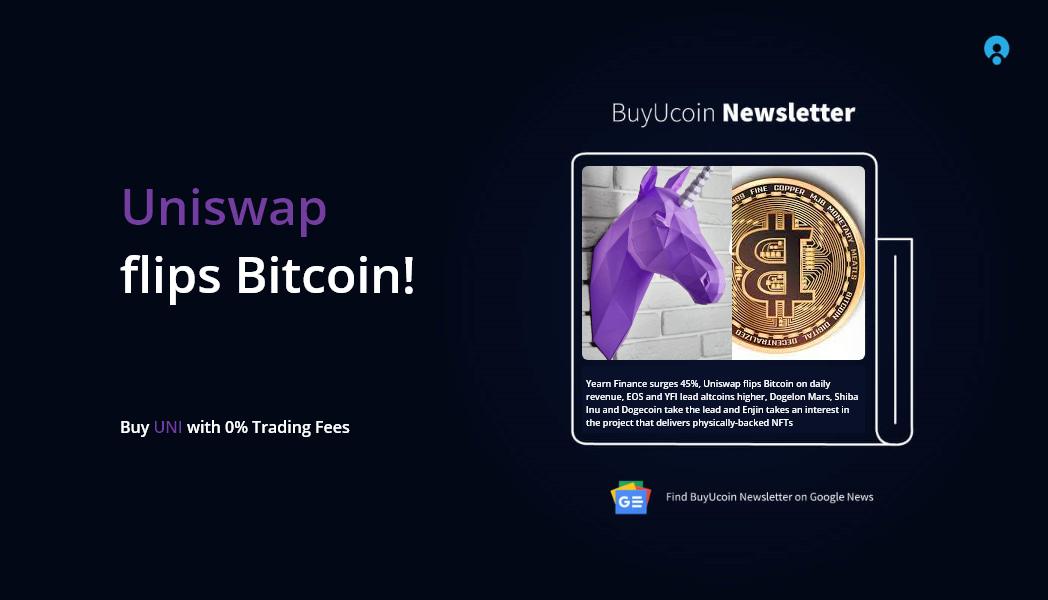 Uniswap flips Bitcoin