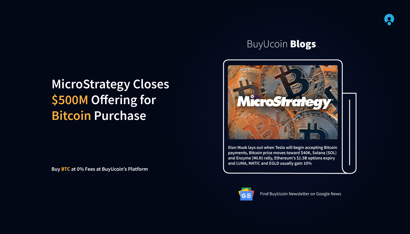 Daily Crypto News 15 June 2021 MicroStrategy 0M Bitcoin