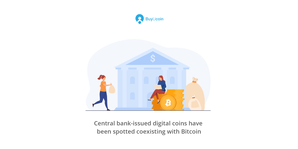 Central bank-issued digital coins