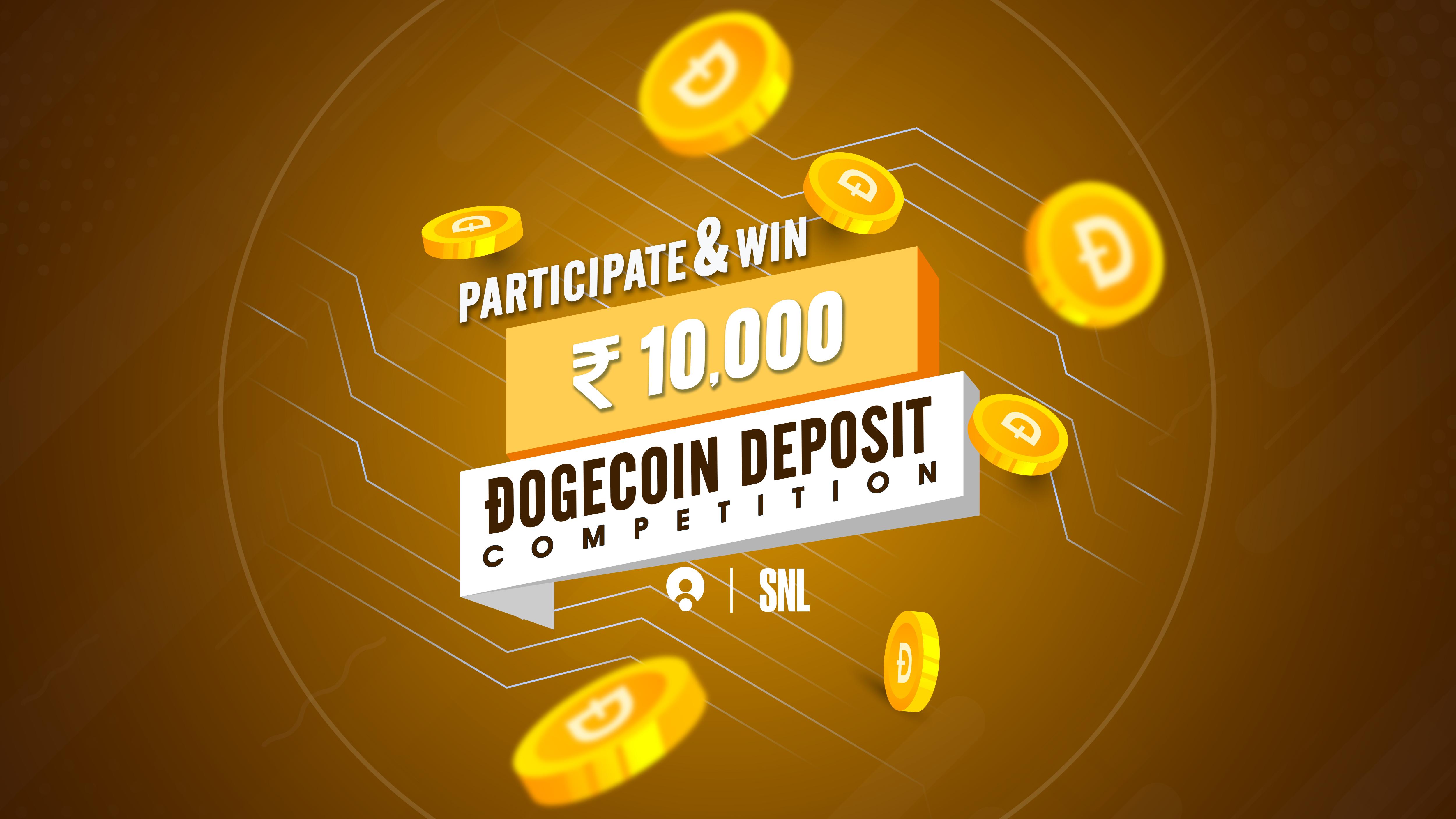 Dogecoin SNL Deposits Contest